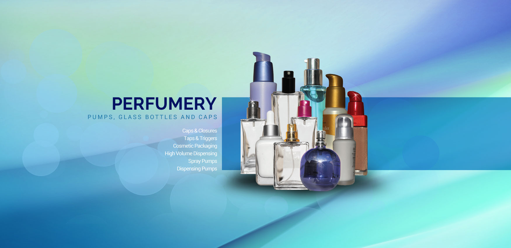 Dispensing Products | Packaging for the Perfumery, Cosmetic